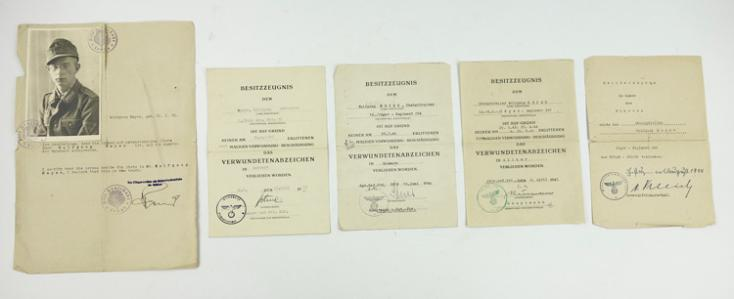 Wehrmacht Award Document Grouping