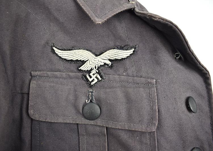 Luftwaffe Blue Field Division summer Tunic